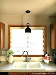 pendant lighting over sink. Over The Sink Light Positive Fixture Pendant Lighting