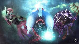 photos dota 2 lich witch doctor death prophet monsters warriors