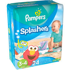 Pampers Splashers Disposable Swim Pants Choose Your Size Walmart Com