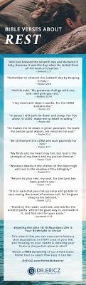 Top 20 Bible Verses About Rest