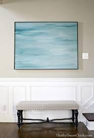 diy canvas frame