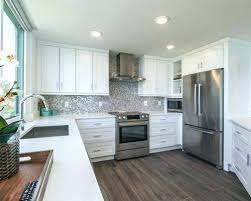 transitional kitchen ideas. Condo Kitchen Design Ideas Transitional Photos Example Of A U Shaped Dark