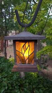tree outdoor light summer dusk decoration lantern metal lamp garden lighting decor solar energy gardening illumination