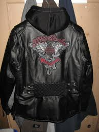 harley davidson amelia leather coat las womans xl 97189 14vw coat2 jpg