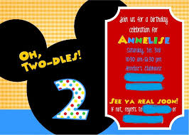 Mickey Mouse Clubhouse 2nd Birthday Invitations Crafting When I Can Mickey Mouse Clubhouse 2nd Birthday Party