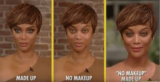 tyra beauty no makeup make up look on fablife