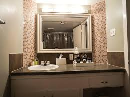 bathroom accent furniture. Full Size Of The Bathroom Has Very Cool Tile Accents Around Mirror And Accent Lighting Furniture