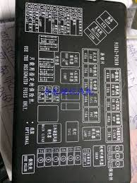 outside anhui jianghuai auto wyatt and commercial fuse box cover outside anhui jianghuai auto wyatt and commercial fuse box cover genuine