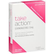 Take Action Levonorgestrel Emergency Contraceptive 1 5 Mg Walmart Com