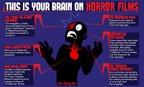 Fifteen Amazing Horror Movie Infographics Popcorn Horror