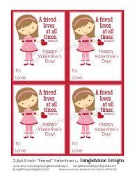 Kids Valentine Card Friend Valentine Diy Printable Christian