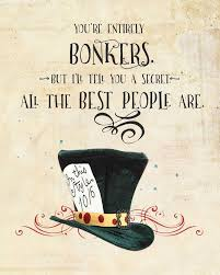 Mad Hatter Quotes Extraordinary Alice In Wonderland Printables Google Search Alice In Wonderland