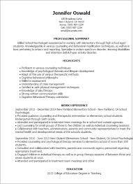 Psychology Resume Objective Impressive Psychology Resume Tributetowayne