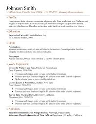 Beautiful Best Resume Doc Format Images Simple Resume Office
