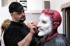 effects artist vincent guastini with actor terrance zdunich