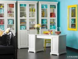 ideas office storage. blue home office with white storage cases ideas e
