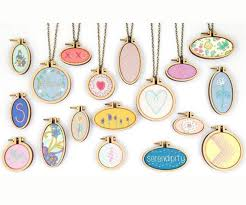 write a review ask a question natural wooden mini embroidery jewelry tiny hoops pendants frame set rings diy cross stitch