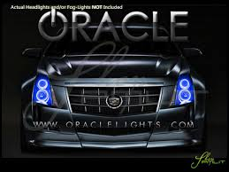 Cadillac Cts Lights Oracle 08 14 Cadillac Cts Plasma Halo Rings Headlights Bulbs