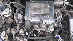 Toyota Yaris 1.4 D4D 2002 Engine 131K miles - YouTube