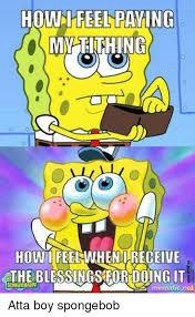 best spongebob boy meme
