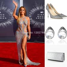Silver Sequin Dress Red Shoes Dress Images