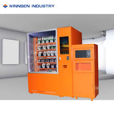 Vending Machine In French Custom China New Product SelfService Smart French Fry Vending Machine