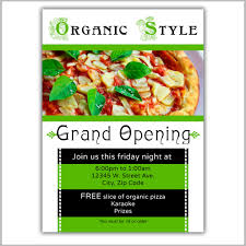Free Grand Opening Flyer Template 22 Restaurant Grand Opening Flyer Templates Ai Psd Word Free