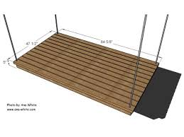 dimensions of hanging daybed