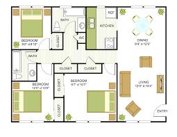 4 bedroom 3 bath one story house plans luxury 4 bedroom 3 bath floor plans fresh