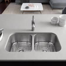 Ren Stainless Steel 32 L X 18 W Double Basin Undermount Kitchen