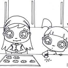 Small Picture Girl making an apple pie coloring pages Hellokidscom