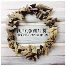 driftwood wreath diy, hot glue, driftwood, drift wood, wreath how-to