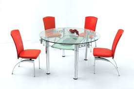 expandable glass dining table expandable glass dining table modern red chairs for stylish dining room decoration