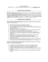 Human Resource Resume Examples