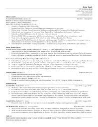 Correspondent Resume Simple JHT Resume