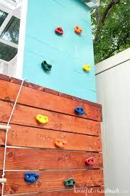 diy kids climbing wall kids indoor
