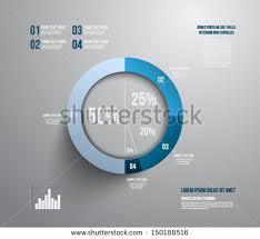 Pie Chart Making Website Pie Chart Graphic Template For Business Design Infographics