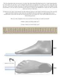 Shoe Size Chart Bont Download Printable Pdf Templateroller