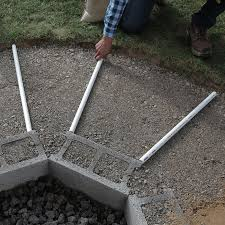 laying the pvc pipes