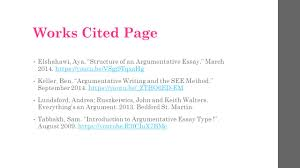 How To Write A Works Cited Page With Two Authors