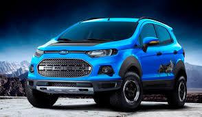 Ford EcoSport Gets a Raptor-Like Edition | Trucks & SUVs ...