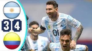 ملخص مباراة الارجنتين والبرازيل 4-3 - تألق ميسي وجنون المعلق - مباراة ممتعة  - - YouTube