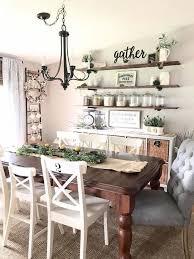 rustic dining room wall decor