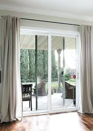 door window cover curtain rods from galvanized pipes without the industrial look home doors curtains patio