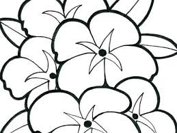 Free Flower Coloring Pages Simple Flower Coloring Pages Simple