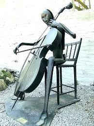 metal sculptures for cast iron sculpture cast iron garden statues outdoor metal sculptures animals the