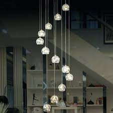 staircase light fixture spiral pendant ceiling light led pendant light suspended lighting fixture glass modern pendant
