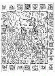 Christmas Cat Coloring Pages Unique Christmas Cat Coloring Pages