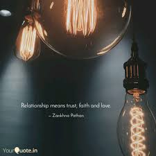 relationship means trust faith love