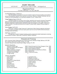 School Nurse Resume Cover Letter Sample Perfect Resume Format